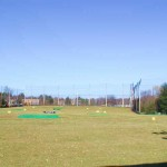 Installation of Netting & Poles for Driving Range